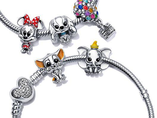925銀串飾扣配 Disney x Pandora Favourites 串飾
