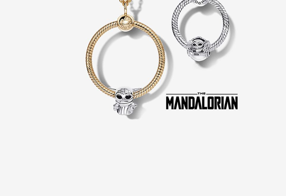 Pandora O Pendants and necklaces with charms from Star Wars x Pandora