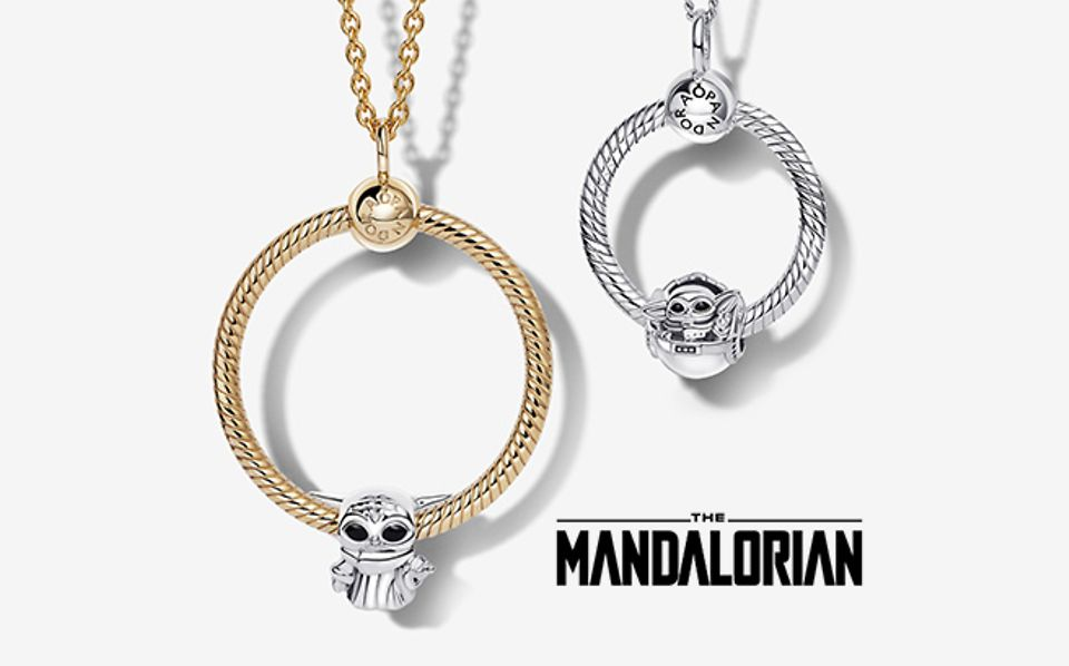 Pandora O Pendants und Halsketten mit Charms aus Star Wars x Pandora
