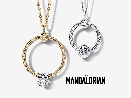 Pandora O-hangers en -halskettingen met bedels van Star Wars x Pandora
