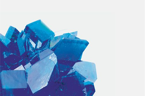 Man-made crystal Nav Tile