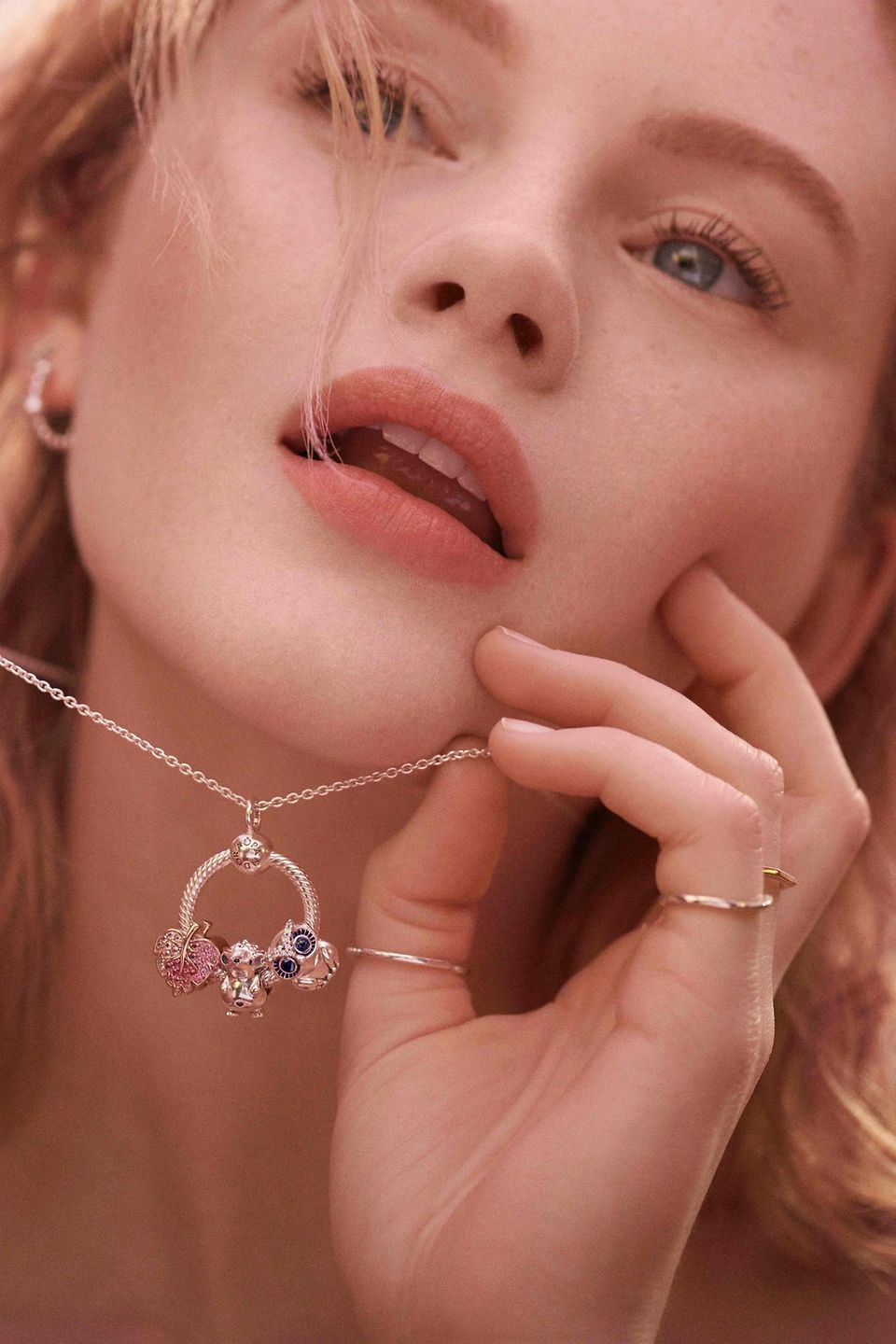 New Pandora Moment O Pendant with charms from the Autumn Collection 2019
