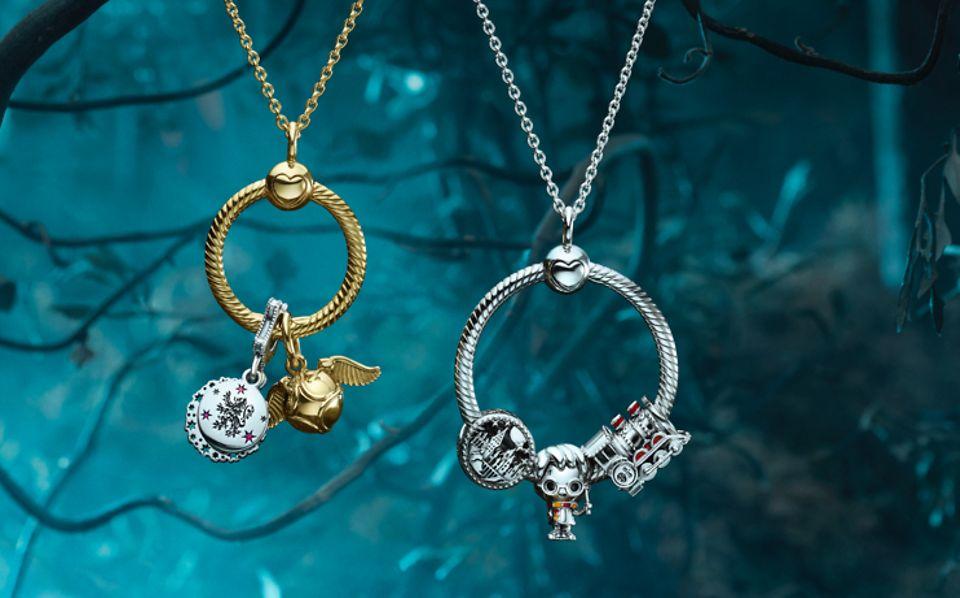 Vis stolt din kærlighed til Harry Potter-filmene og -bøgerne med håndforarbejdede Pandora-charms.