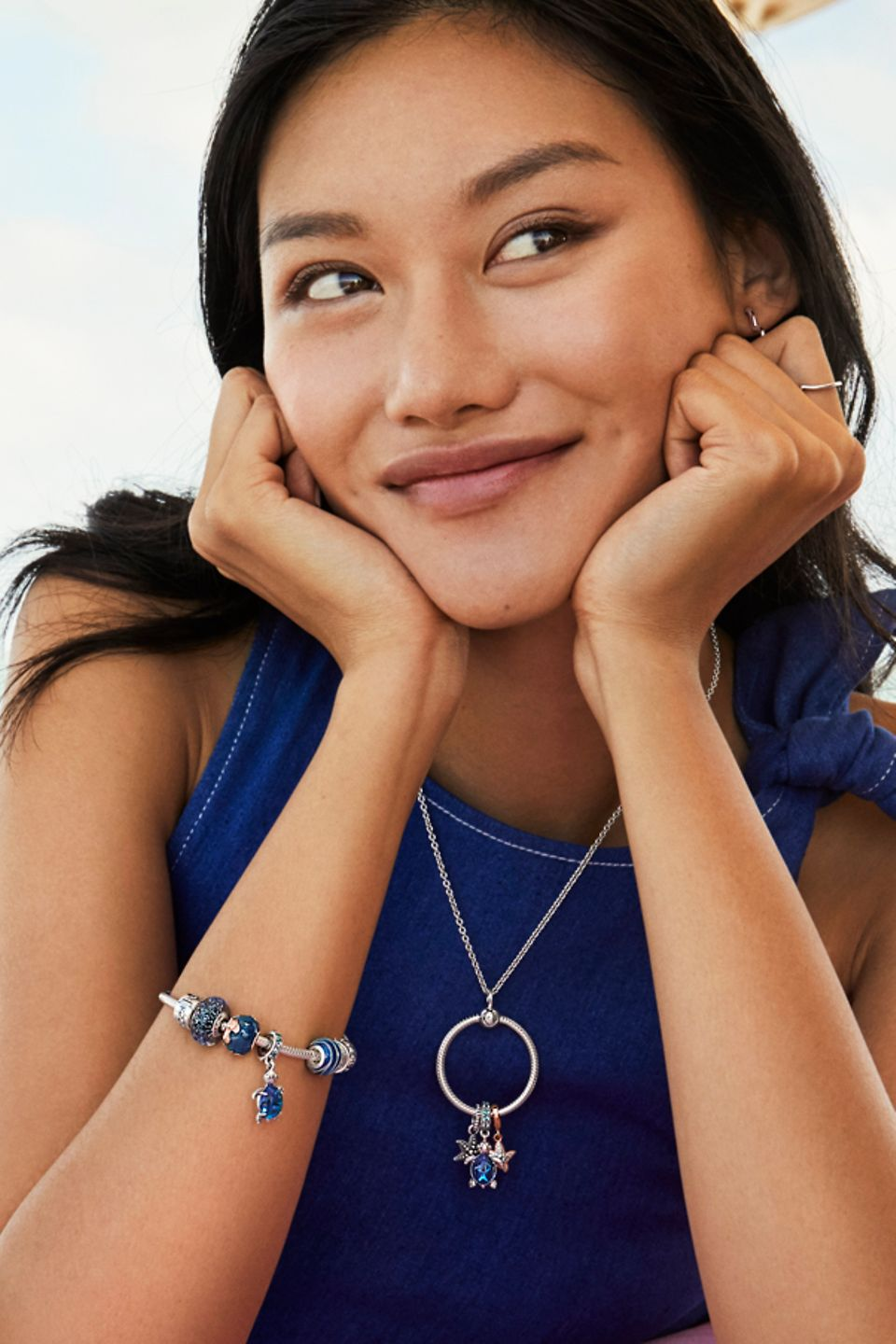 Make a splash with ocean charms inspired by the deep blue.