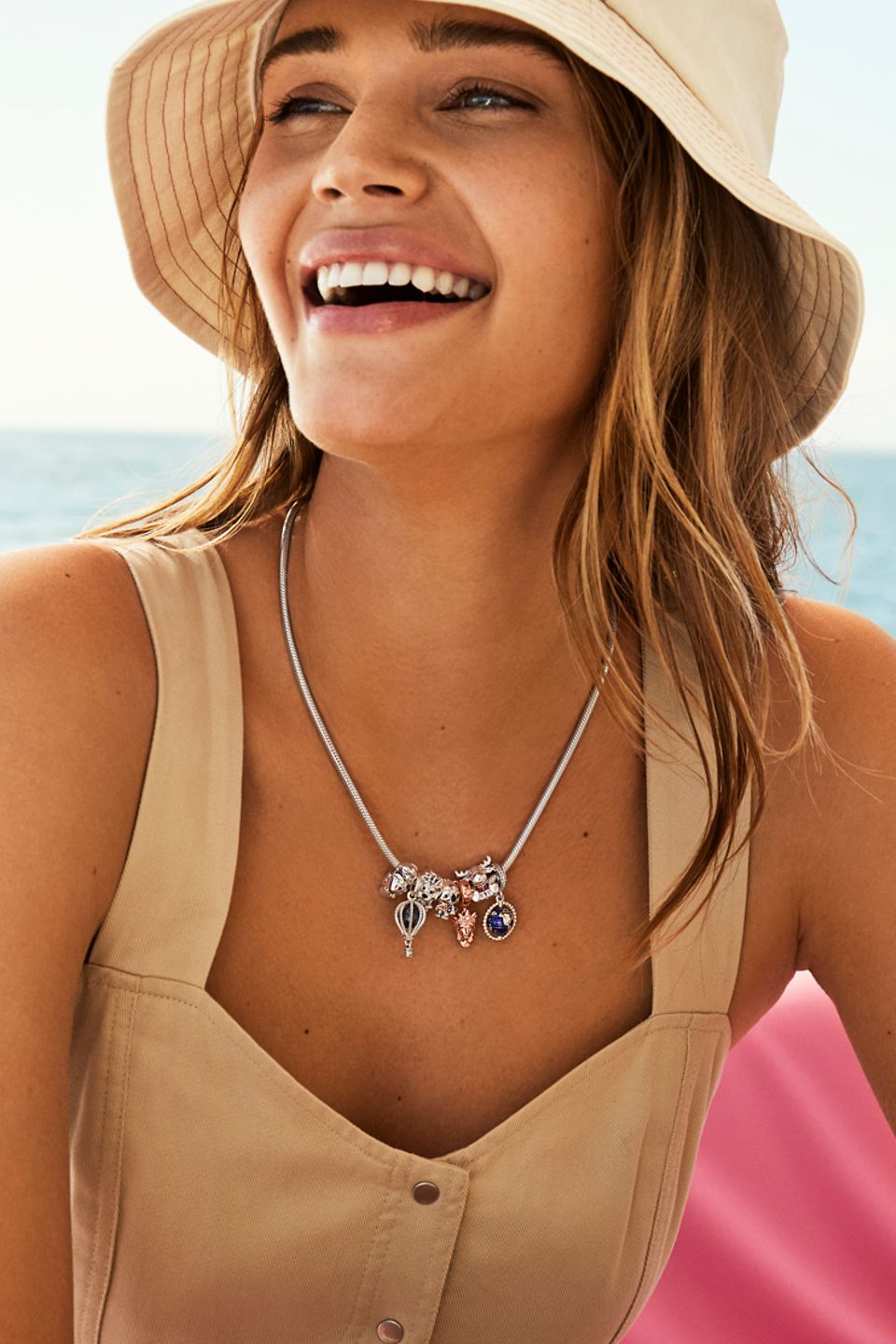 Travel jewellery and travel charms from the Pandora Places collection