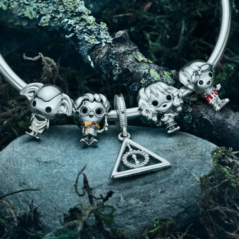 Charms inspired by the Harry Potter universe